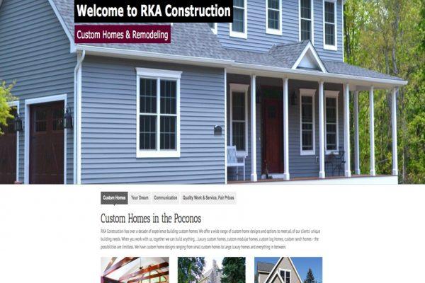 RKA Construction-Stroudsburg, Mt Pocono, Brodheadsville, East St