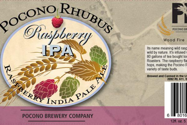 Beer label design by Hunter Graphics